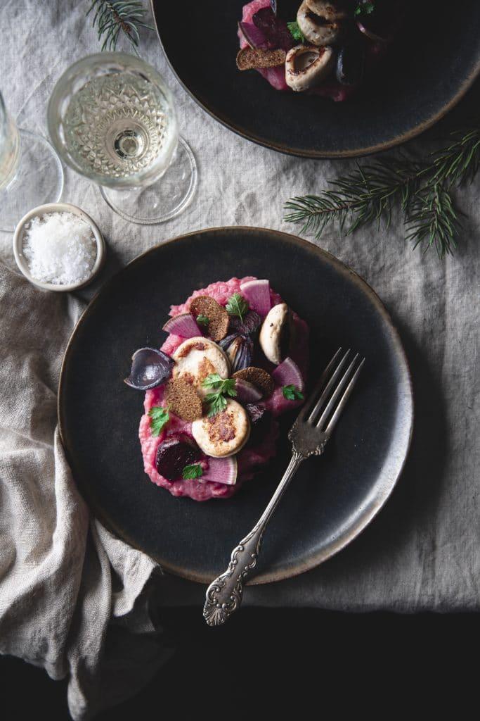 Recette gastronomique pour les tables de fête